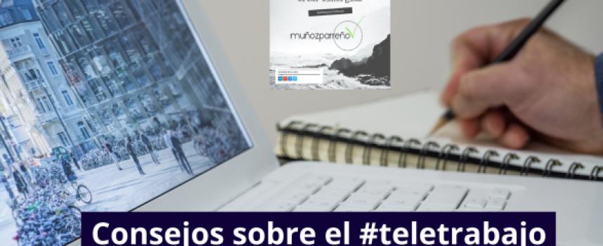 Consejos sobre la nueva realidad: #teletrabajo