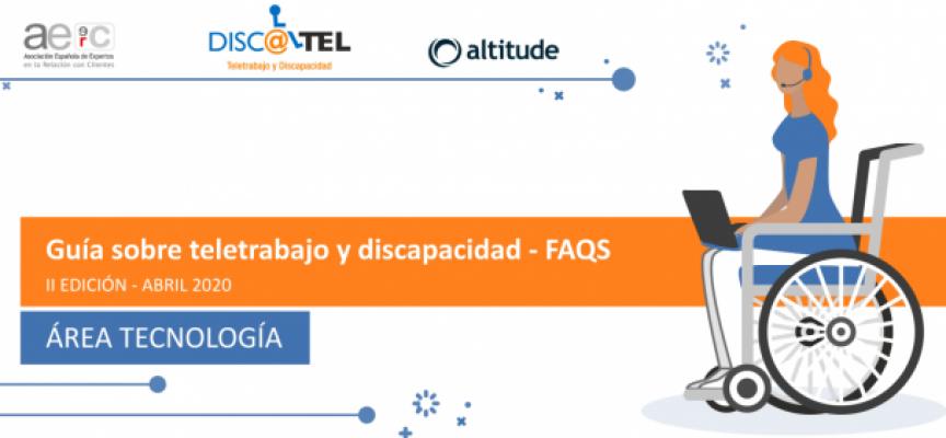 Guía interactiva sobre Teletrabajo y Discapacidad 2020