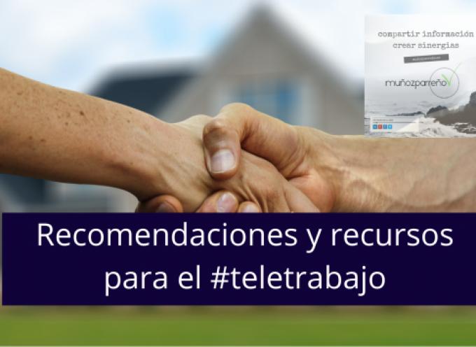 Recomendaciones y recursos para el #teletrabajo