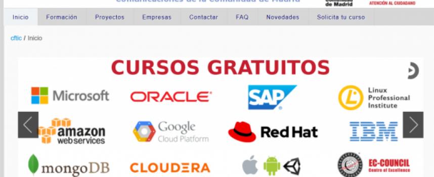 Madrid ofrece Cursos online gratuitos en distintas competencias digitales