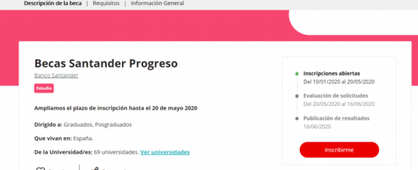 Becas online para el mejor talento en derecho digital de Santander y Fundación IE | Plazo 15 de junio