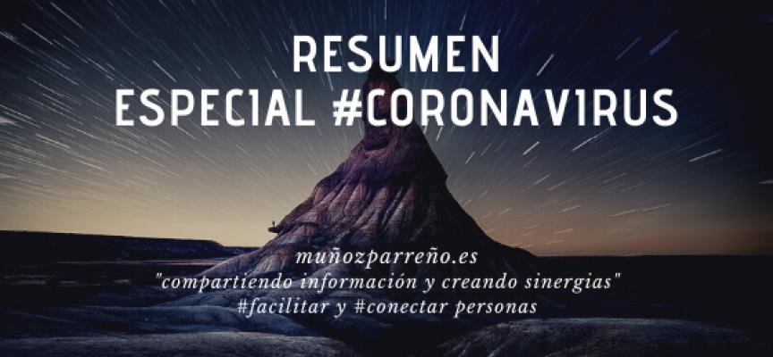 Resumen Especial Mayo 2020  | Seguimos compartiendo información y creando sinergias #Covid19