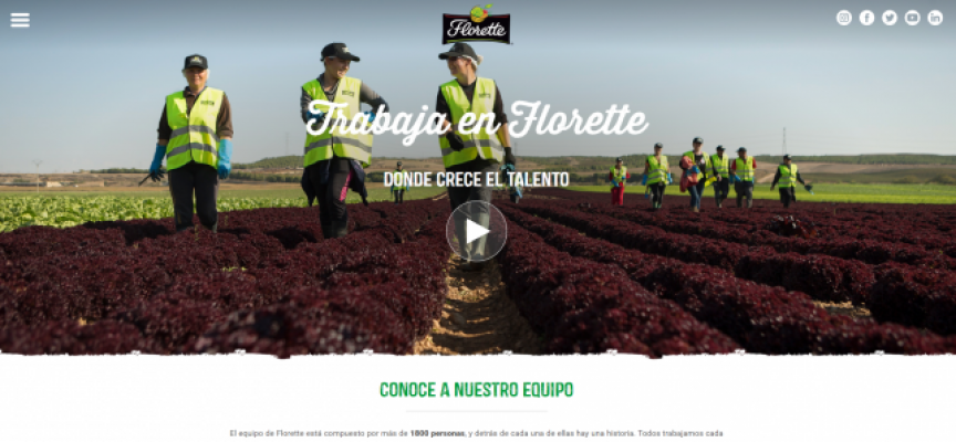 Se ofrecen 300 empleos en Florette en su nuevo centro de producción