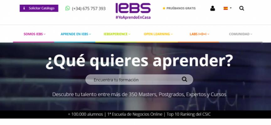 IEBS lanza 5 Seminarios y MOOC Gratis en Mayo de 2020