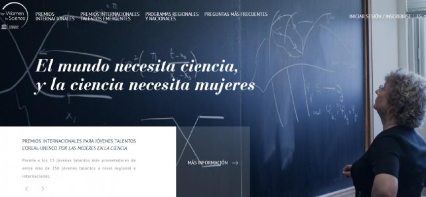 Abierto plazo de inscripción premios L'Oréal-UNESCO 'For Women in Science'