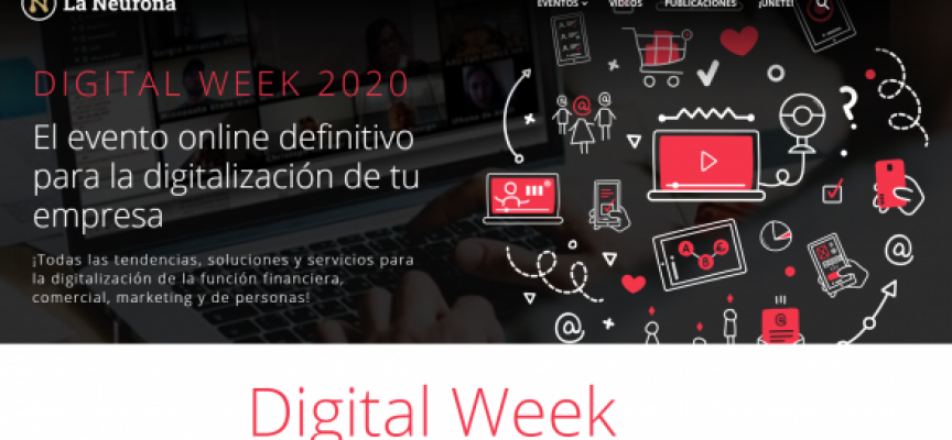 La feria online Digital Week tendrá lugar del 7 al 19 de julio