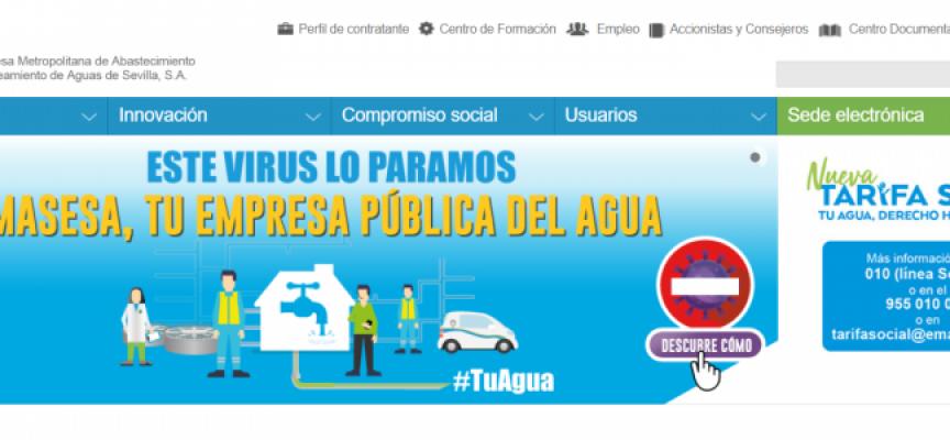 Emasesa invertirá 250 millones y generará 10.000 empleos en Sevilla