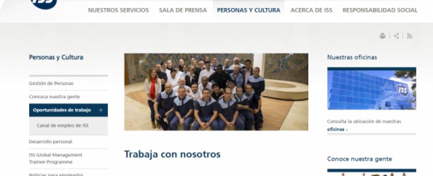 La Compañía ISS Iberia contratará a 300 personas con discapacidad