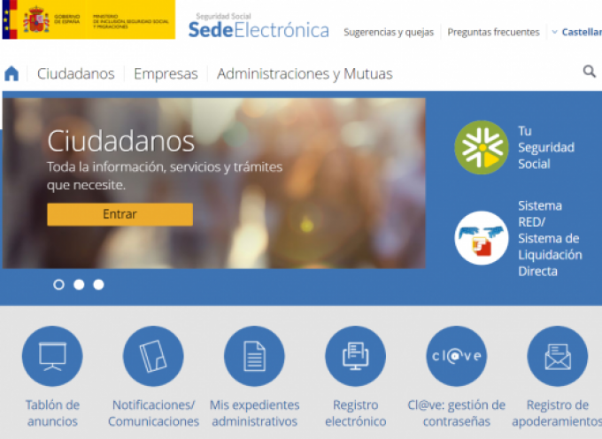 La Seguridad Social pone en marcha un Asistente Virtual para resolver dudas del ciudadano