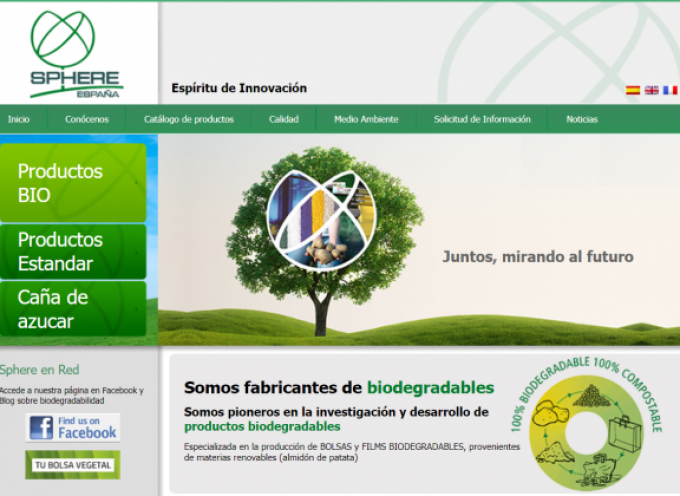 Sphere España creará 50 empleos con su nuevo complejo industrial de Pedrola