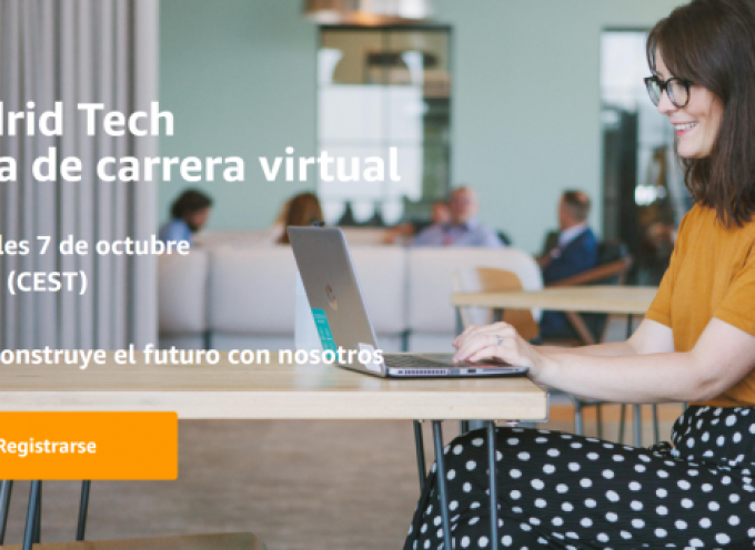 Amazon busca más de 100 profesionales en una Feria Virtual el día 7 de octubre