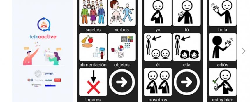 talkAACtive, la aplicación móvil que facilita la comunicación en el entorno laboral a personas con autismo