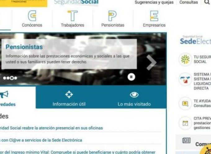 La Seguridad Social lanza un nuevo servicio para hacer los trámites online