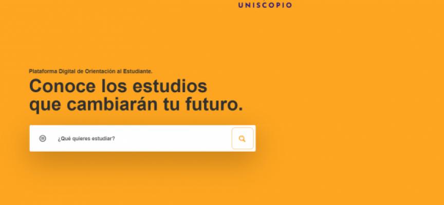 La plataforma online que ayuda a decidir qué y dónde estudiar