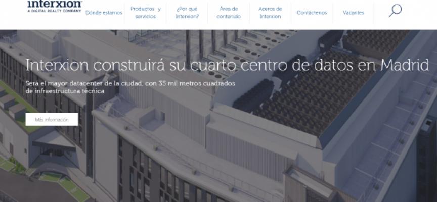 Interxion creará 500 empleos con la construcción de su centro de datos de Madrid