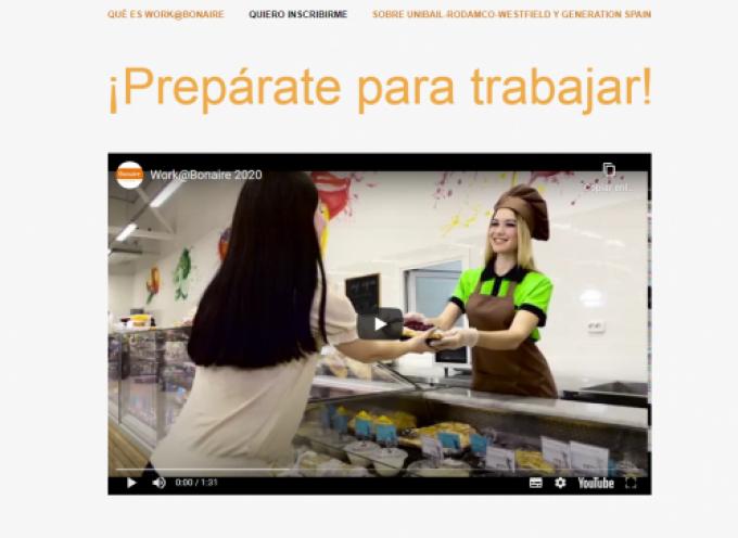 Plazo abierto para trabajar en Centros Comerciales mediante el programa Work@ | Atención Plazo 4 de octubre 2020