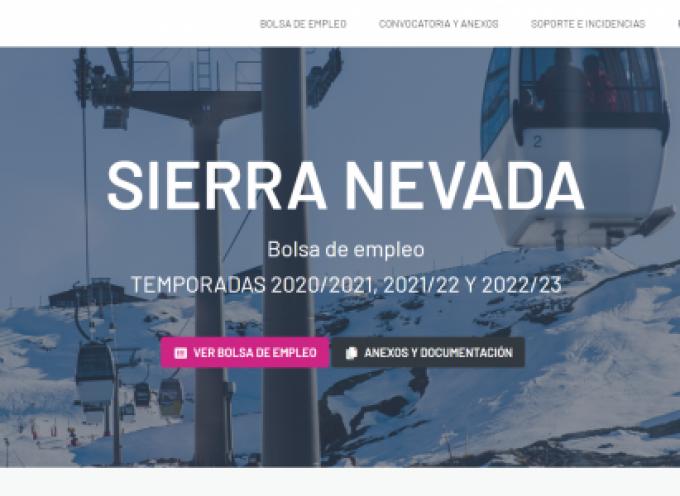 Sierra Nevada abre Bolsas de Empleo para las temporadas de nieve 2020 a 2023