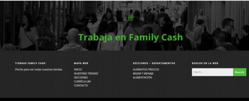 Family Cash busca 90 personas para su nuevo supermercado en Almendralejo. Próximas aperturas