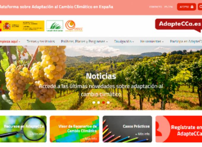 La Fundación Biodiversidad lanza nueva web para la plataforma AdapteCCa