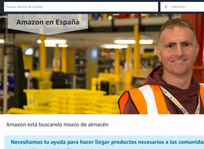 Amazon creará 300 empleos directos e indirectos en su estación logística de Leganés