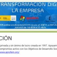 CURSO GRATUITO para TRABAJADOR@S de Albacete TRANSFORMACIÓN DIGITAL