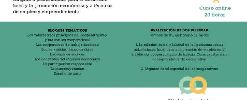 Curso de Formación sobre Iniciación a la gestión de Cooperativas de Trabajo para profesionales del Desarrollo Local en Castilla La Mancha. Gratuito.