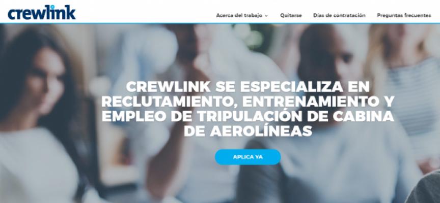 400 puestos de trabajo para tripulantes de cabina de pasajeros