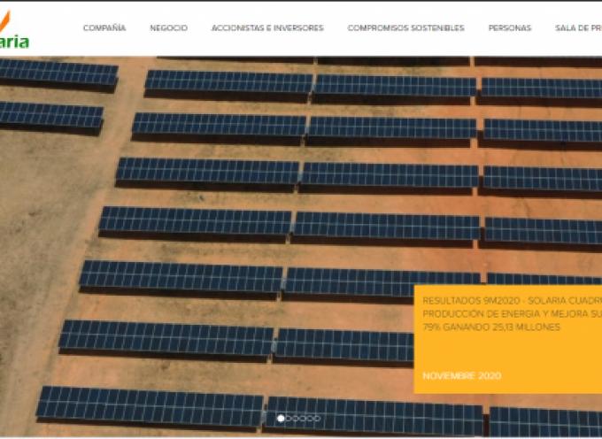 Solaria ofrecerá 15.000 puestos de trabajo