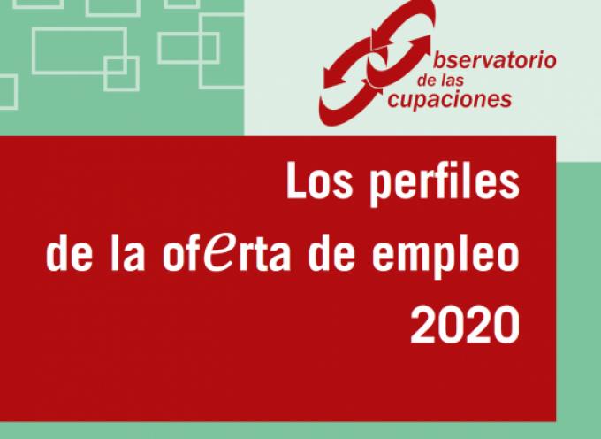 Informe 2020 con los Perfiles Profesionales más demandados por las empresas
