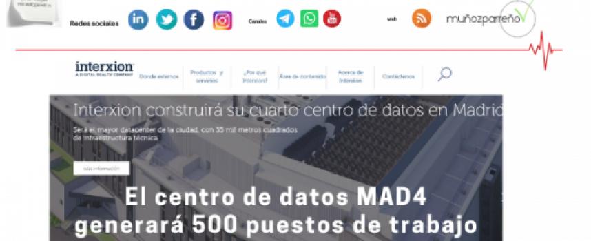 El centro de datos MAD4 generará 500 puestos de trabajo en Madrid