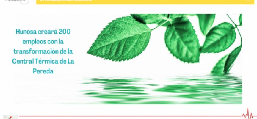 Hunosa creará 200 empleos con la transformación de la Central Térmica de La Pereda