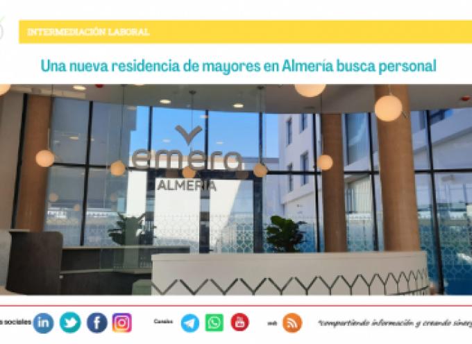 Una nueva residencia de mayores en Almería busca personal
