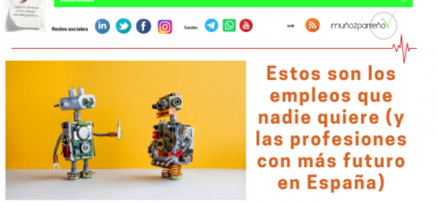 Estos son los empleos que nadie quiere (y las profesiones con más futuro en España)