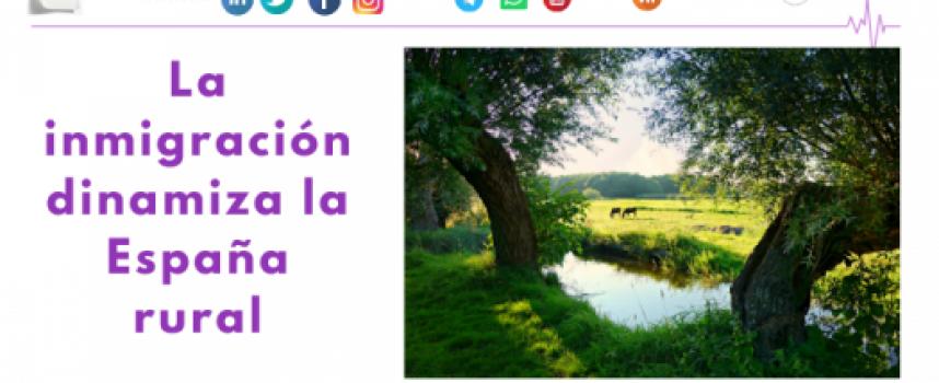 La inmigración dinamiza la España rural