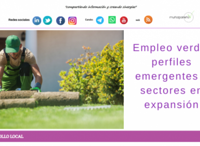 Empleo verde: perfiles emergentes y sectores en expansión