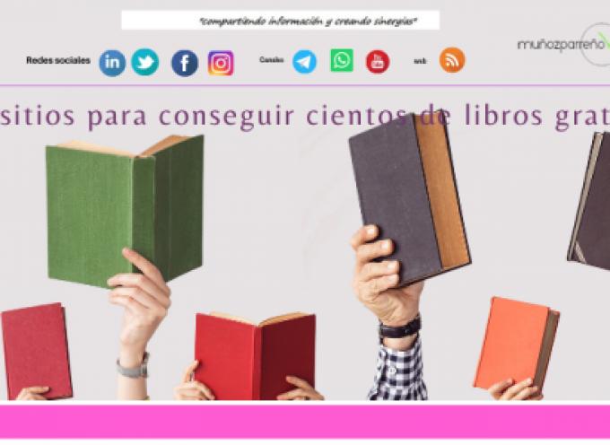 10 sitios para conseguir cientos de libros gratis
