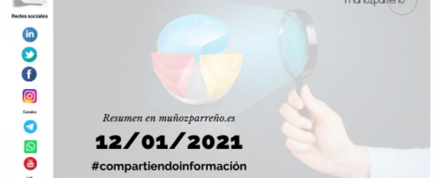 Boletín 2/2021 – #compartirinformacion |  martes 12 de enero de 2021