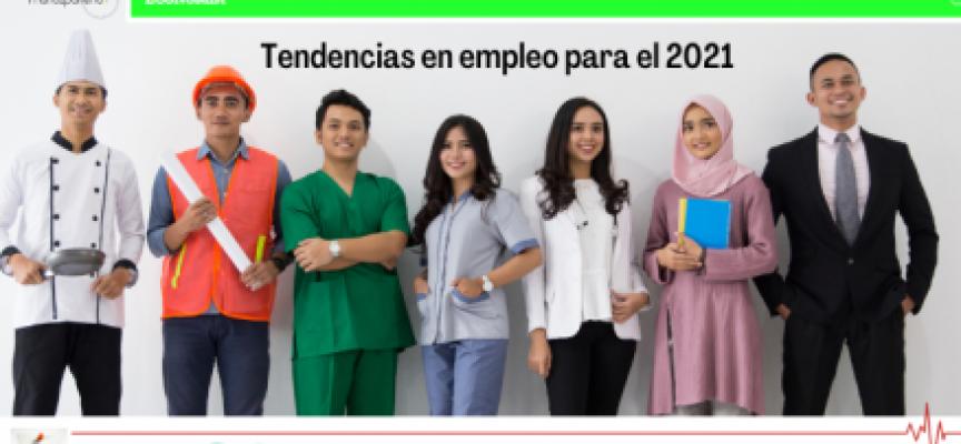 Tendencias en empleo para el 2021