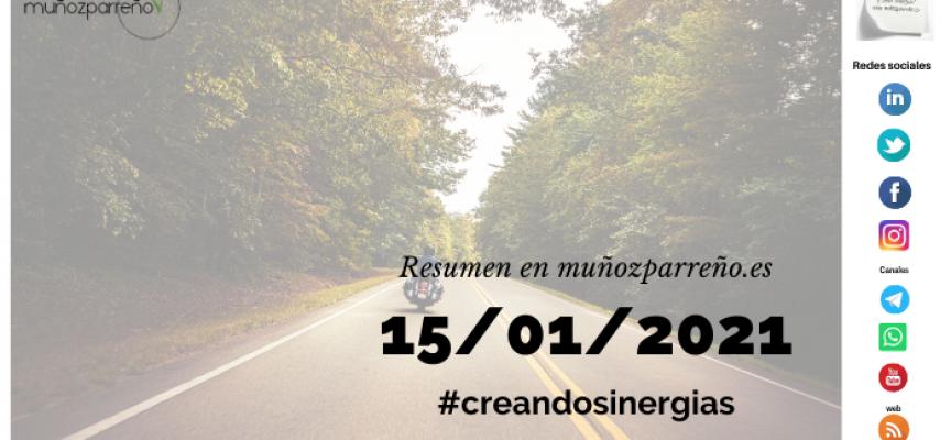 Boletín 3/2021 – #creandosinergias viernes 15 de enero de 2021