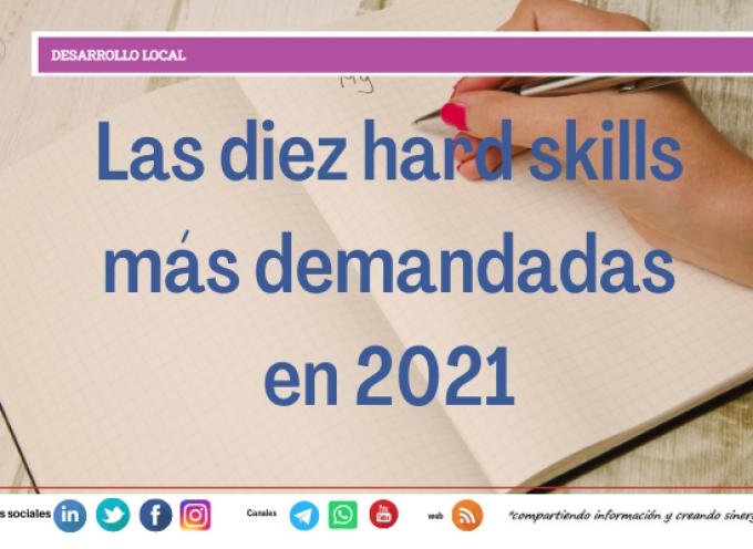 Las diez hard skills más demandadas en 2021
