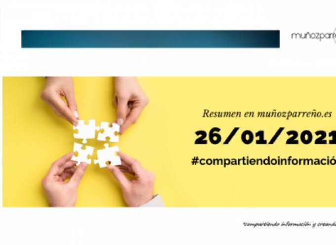 Boletín 6/2021 – #compartirinformacion |  martes 26 de enero de 2021