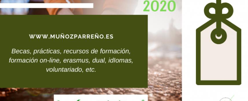 Especial Formación 2020 – (recursos, cursos, formación on-line, dual, idiomas, voluntariado, prácticas, becas, etc., y que no debes perderte)