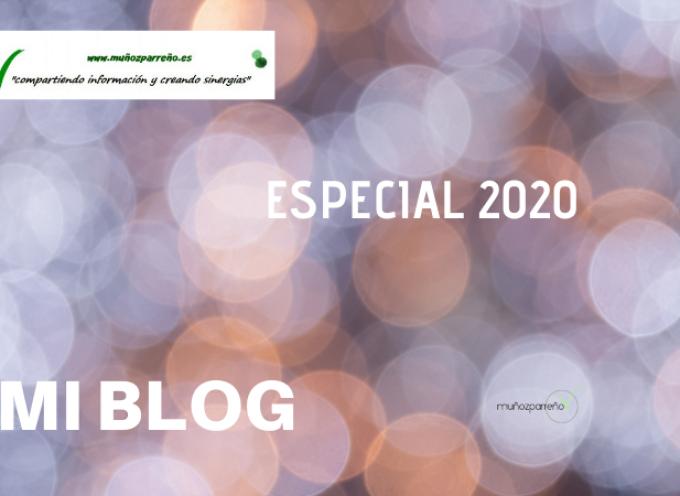 Especial Blog de www.muñozparreño.es 2020 | Gracias por vuestras lecturas, por compartir y crear sinergias