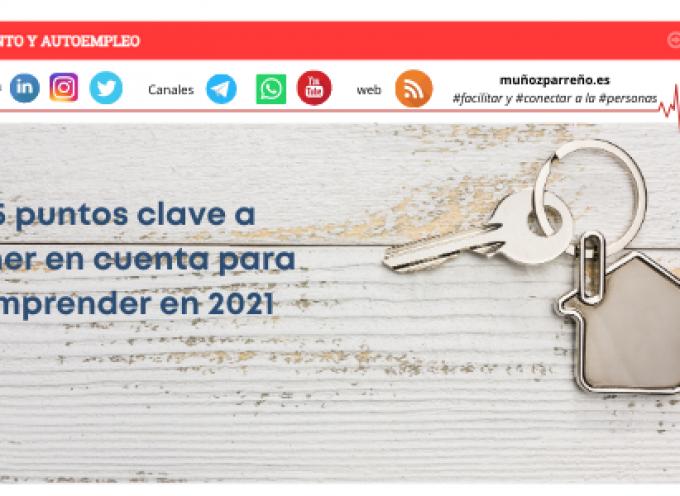 5 puntos clave a tener en cuenta para emprender en 2021