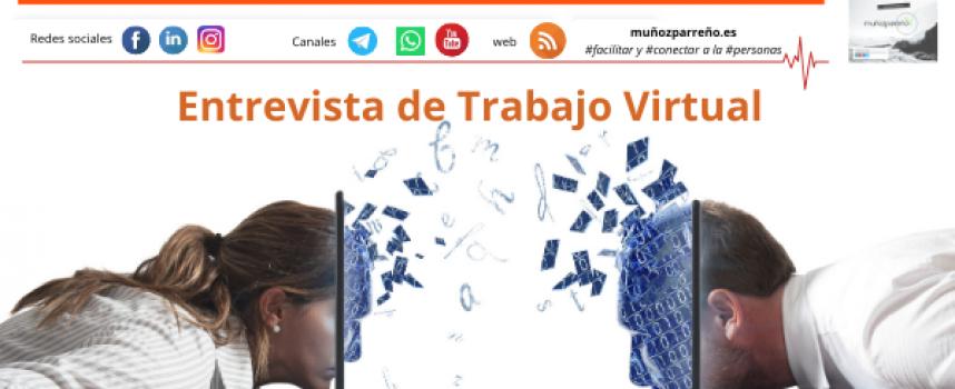 Entrevista de Trabajo Virtual