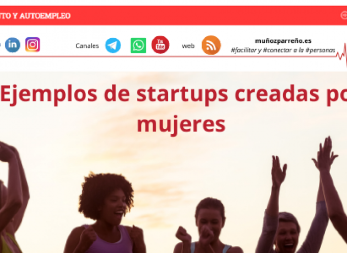 Ejemplos de startups creadas por mujeres