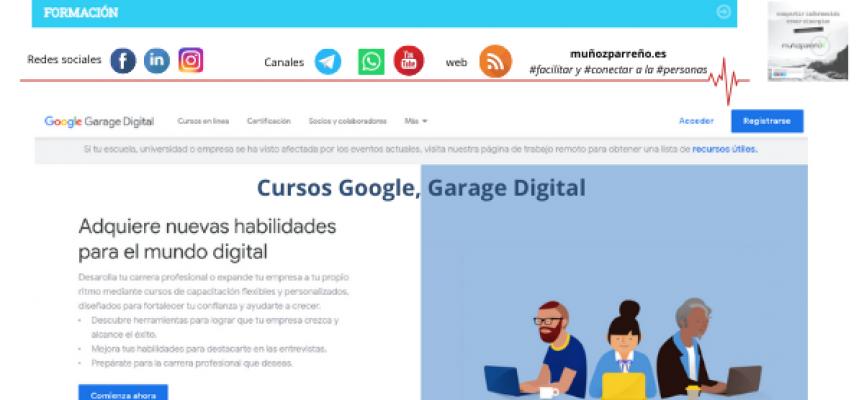 Cursos Google, Garage Digital