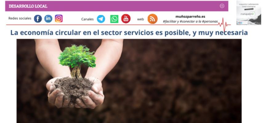 La economía circular en el sector servicios es posible, y muy necesaria