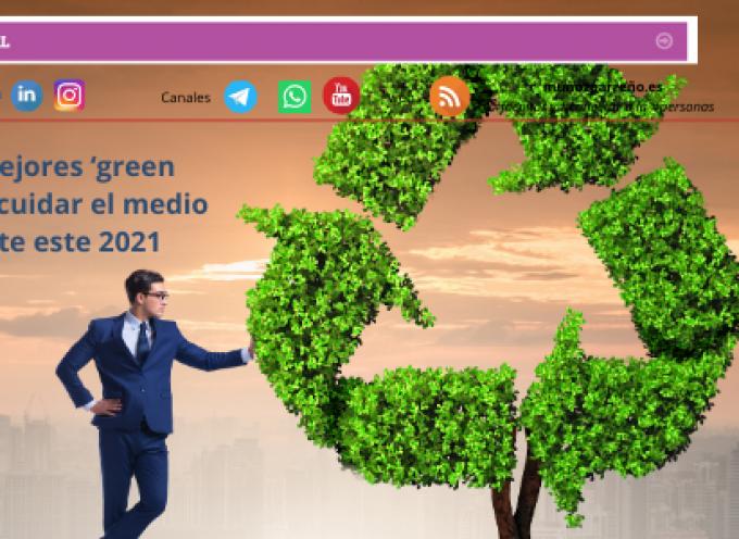 Las 10 mejores 'green apps' para cuidar el medio ambiente este 2021