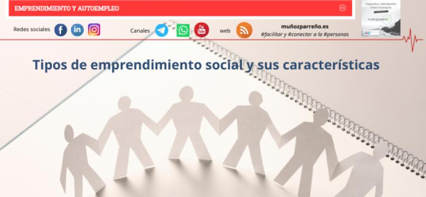 Tipos de emprendimiento social y sus características